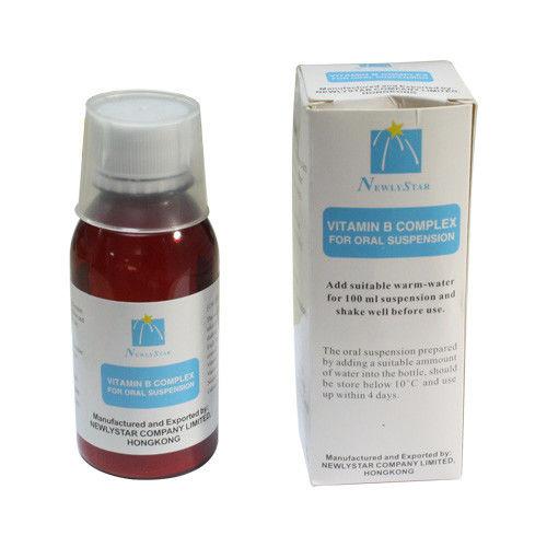 Liquid Vitamin B Complex Dosage Oral Suspension Medicine ...
