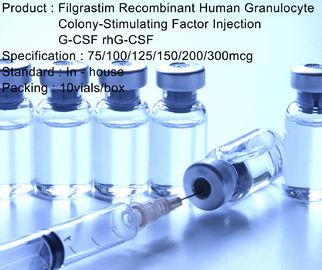 Granulocyte Colony Stimulating Factor G-CSF / rhG-CSF Filgrastim Injection